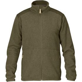 Fjällräven Sten Fleece Jacket Men dark olive